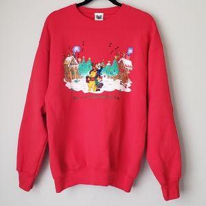 Disney Catalog Christmas Pullover Winnie The Pooh